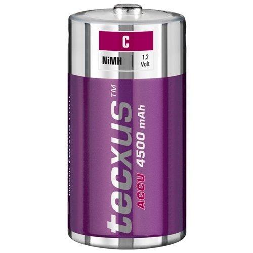Tecxus C (Baby)/HR14 - 4500 mAh<br>Nickel-Metallhydrid Akku (NiMH), 1,2 V