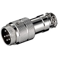 Mikrofonstecker, 6 Pin<br>