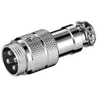 Mikrofonstecker, 4 Pin<br>