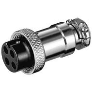 Mikrofonkupplung, 4 Pin<br>