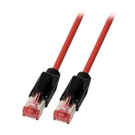 RJ45 Patchkabel 2xHRS TM21 PIMF PUR rot UC900MHz 3 Meter
