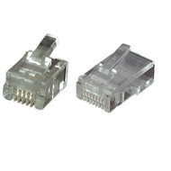Modular Stecker UTP E-MO 8/8 SF RJ45  VPE100