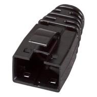 Knickschutztülle RJ45 schwarz für 37563.T, VPE 100
