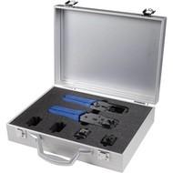 PRIMO Koffer Alu glatt Hirose Werkzeugzangen