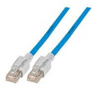 INFRALAN® VC45 Patchkabel Class.EA S/FTP, 0.5 m, blau