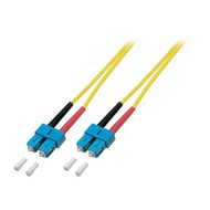 Duplex Jumper SC - SC 9/125µ, 0.5 m, OS2, LSZH, gelb, 3mm