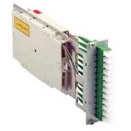 Moduleinschub 12xE2000/APC spx OS2 9/125µ, 3HE/7TE, bestückt