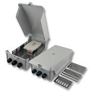 IP54 LWL Spleissgehäuse-Set mit umfangreichem Zubehör