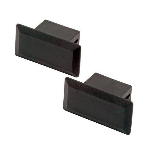 Blindstopfen für SC(D)-Bohrung schwarz, VPE 100