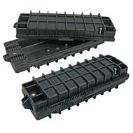 Outdoormuffe,IP 68,Kabelstärke 10-25mm, für 48 Fasern