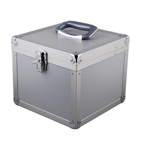 Alu-Vorlauffaser Koffer, SC/SC 50 Meter, 50/125µ