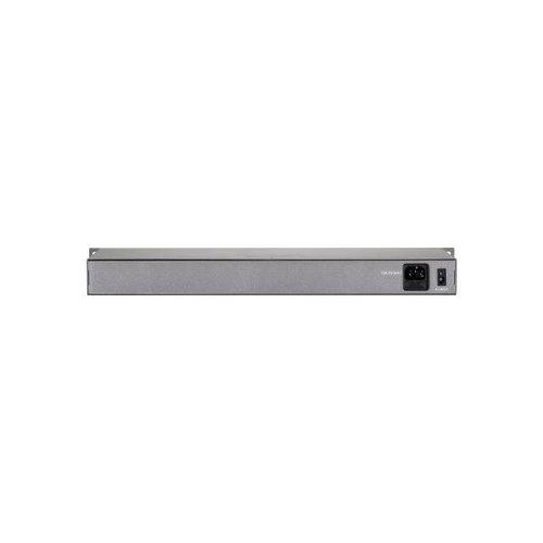 16 Port Fast Ethernet PoE Plus Switch (240W)