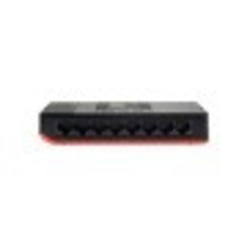 """8-Port Gigabit Ethernet Desktop Switch """"Black Edition"""""""