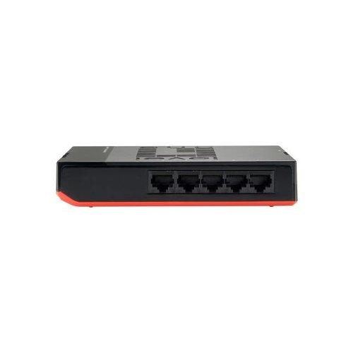 """5-Port Gigabit Ethernet Desktop Switch """"Black Edition"""""""