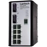 Hutschienen-Switch -20°~+60°C 8x10/100TX+2x100FX SC MM, SNMP