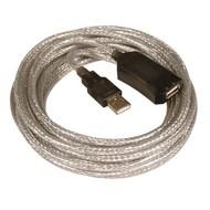 USB2.0 Repeater Kabel 5m aktiv USB-A Buchse auf USB-A Stecker