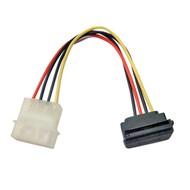 Stromkabel f. Serial ATA 150 intern, SATA 90°, Länge: 0,15m