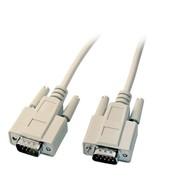 Datenkabel seriell 1:1 3m Stecker/Stecker 9pol.