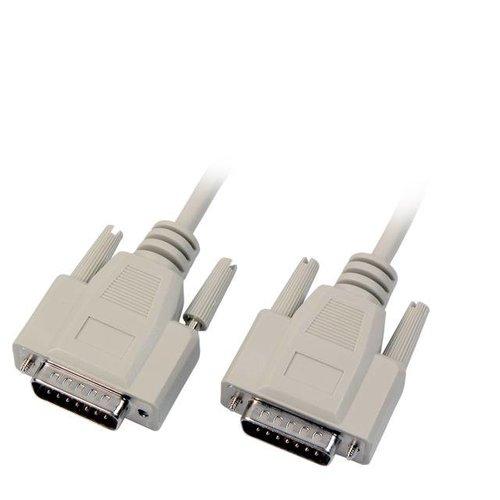 5m Stecker-Stecker 15pol. 1:1 DSUB15 Adapterkabel