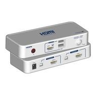 2-Port KVM-Switch HDMI-USB inkl. Kabelset 2x 1.2m