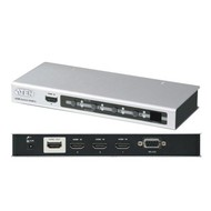 Video-Audio Switch 4 Port HDMI Ultra HD / 4K