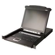 "8 Port KVM 17""-LCD Console 19""-Schublade + Keyboard"