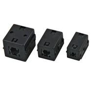 Ferrit-Ringkern 6,5mm, schwarz Bauform: eckig