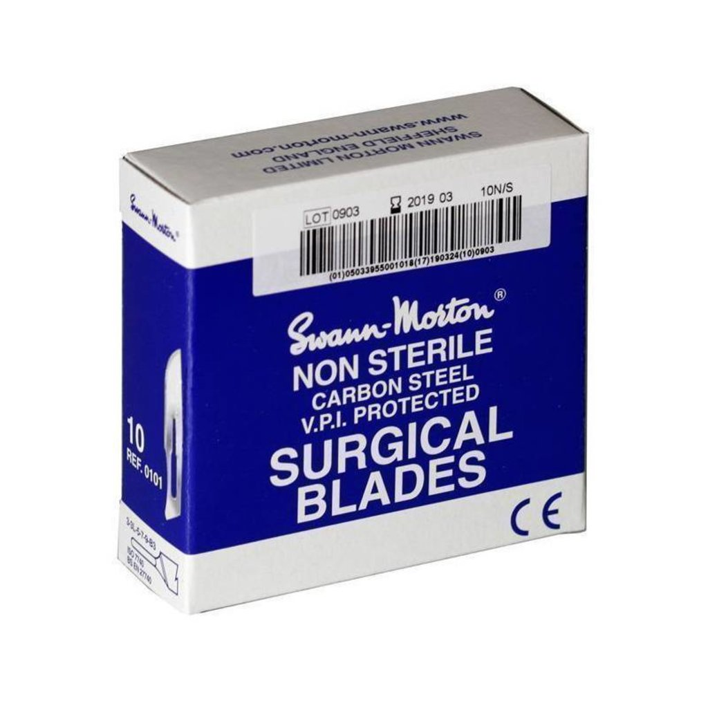 Swann Morton nr20 Scalpel blades Not sterile 100 pieces