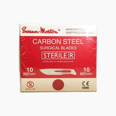 Swann Morton nr10 Scalpel blades Sterile 100 pieces