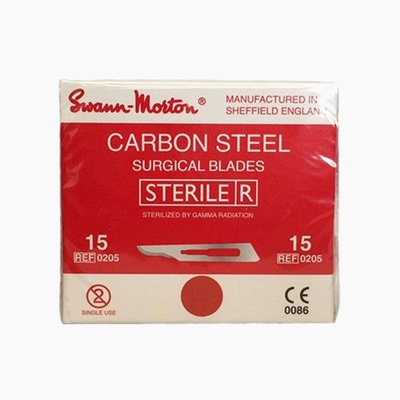 Swann Morton nr15 Scalpel blades Sterile 100 pieces
