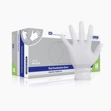 Klinion vinyl glove powder free medium