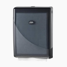 Euro Products Handdoekdispenser - Multifold - C-fold - zwart