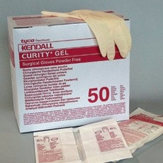 Covidien / Kendall Curity surgical Latex gloves powder free (50 pairs)