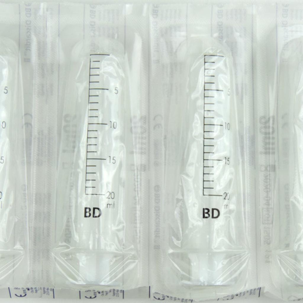 BD Discardit 20ml Injectiespuit - 2delig