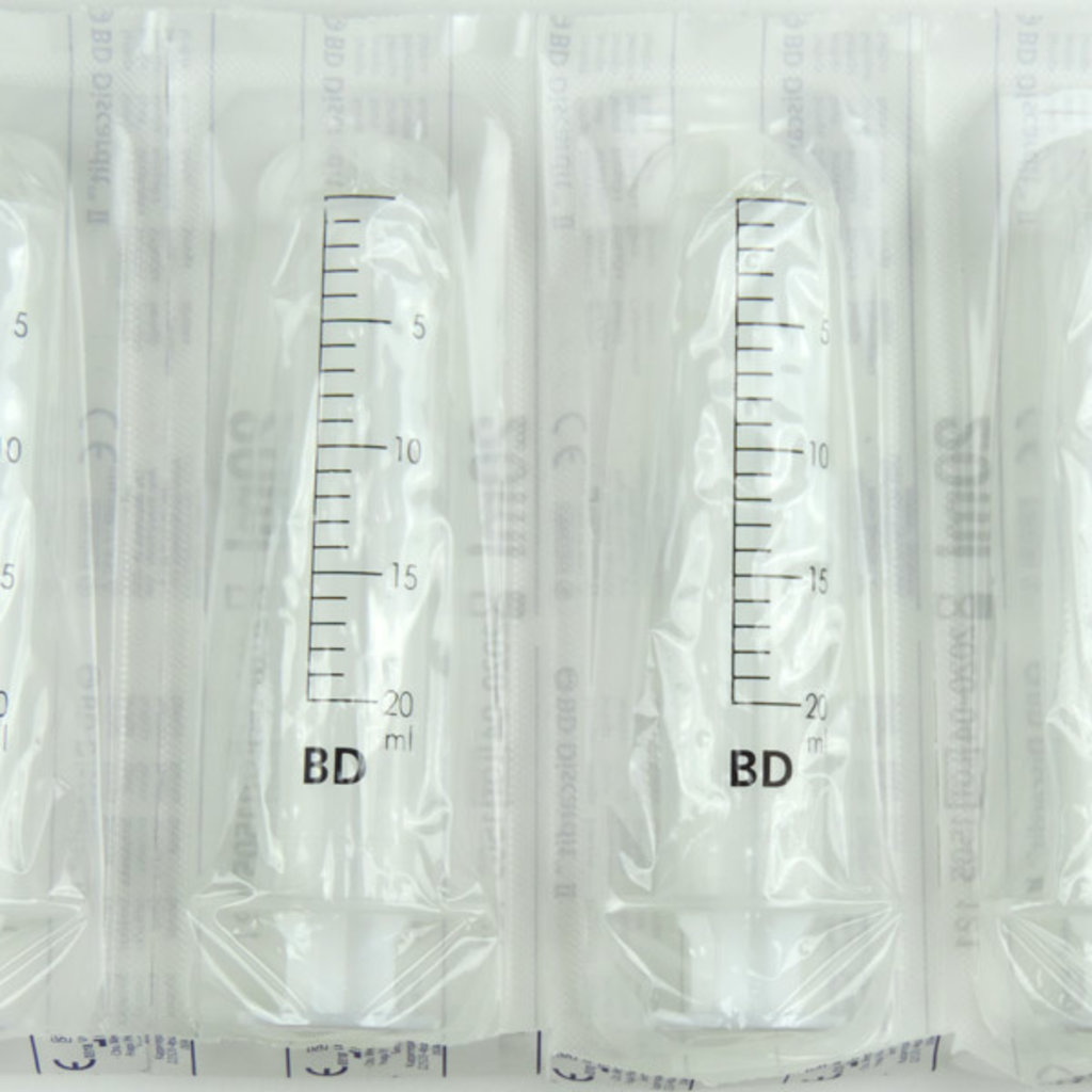BD Discardit 20ml Syringe