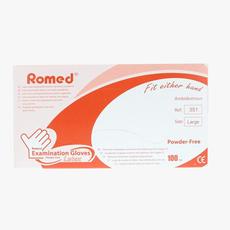 Romed Latex-Untersuchungshandschuh puderfrei Nicht steril