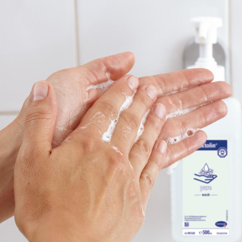 Hartmann Baktolin Pure Hand Lotion (hand soap) 500 ml Bottle