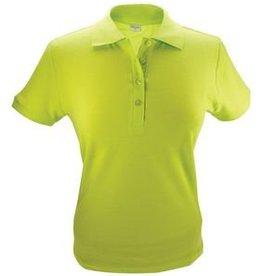 100% katoenen lichtgroene dames Poloshirts (polo pique)