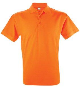 Goedkope heren poloshirts (Men's polo pique) in de kleur lichtblauw kopen?