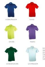 Goedkope heren poloshirts (Men's polo pique) in de kleur donkergrijs kopen?