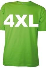 100% katoenen lichtgroene T-shirts in de maat XL kopen?