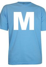 100% katoenen lichtblauwe T-shirts in de maat S kopen?