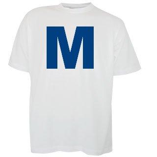 Katoenen witte T-shirts met opdruk van een logo kopen?