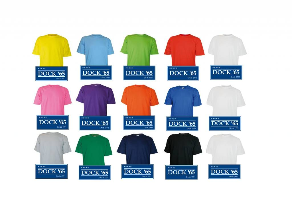 T-shirts in de kleur lichtgroen kopen? Lichtgroene T-shirts leverbaar in de maten S t/m 4XL