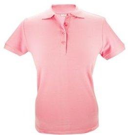 Dames Poloshirts in de kleur roze (maten S t/m XXL)