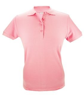Goedkope 100% katoenen roze dames Poloshirts kopen?