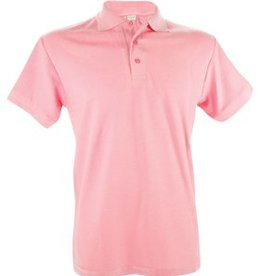 Poloshirts voor heren (Men's polo pique) in de kleur roze
