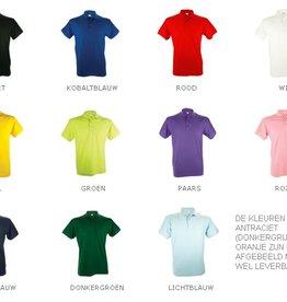Poloshirts voor heren (Men's polo pique) 100% katoen