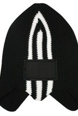 Warme IJsmutsen kopen? Retro Ice Skating Hats in de kleur zwart met wit kopen?