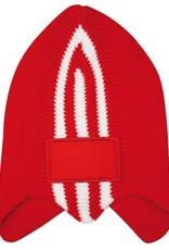 Warme IJsmutsen kopen? Retro Ice Skating Hats in de kleur donkerblauw met wit kopen?